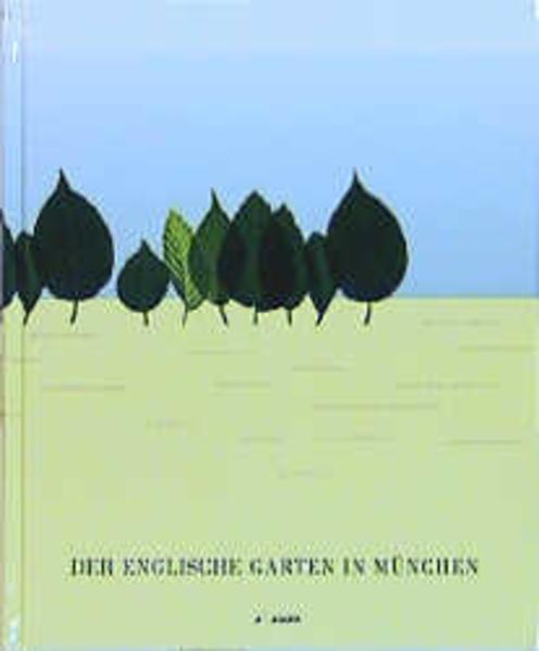 Der Englische Garten in München als Buch