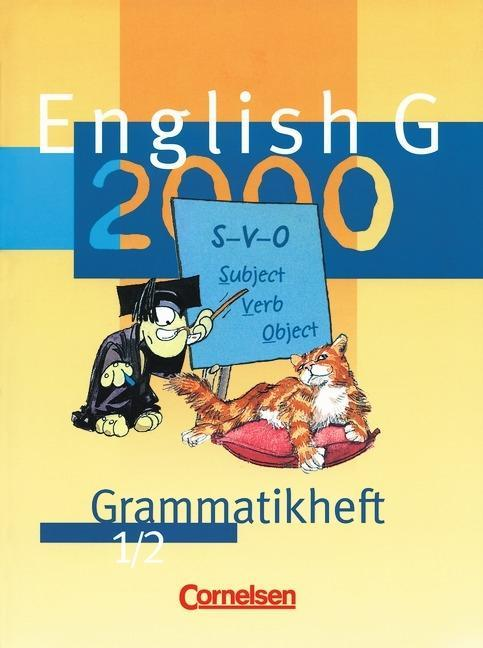 English G 2000. Ausgabe A/B/D 1/2. Grammatikheft als Buch