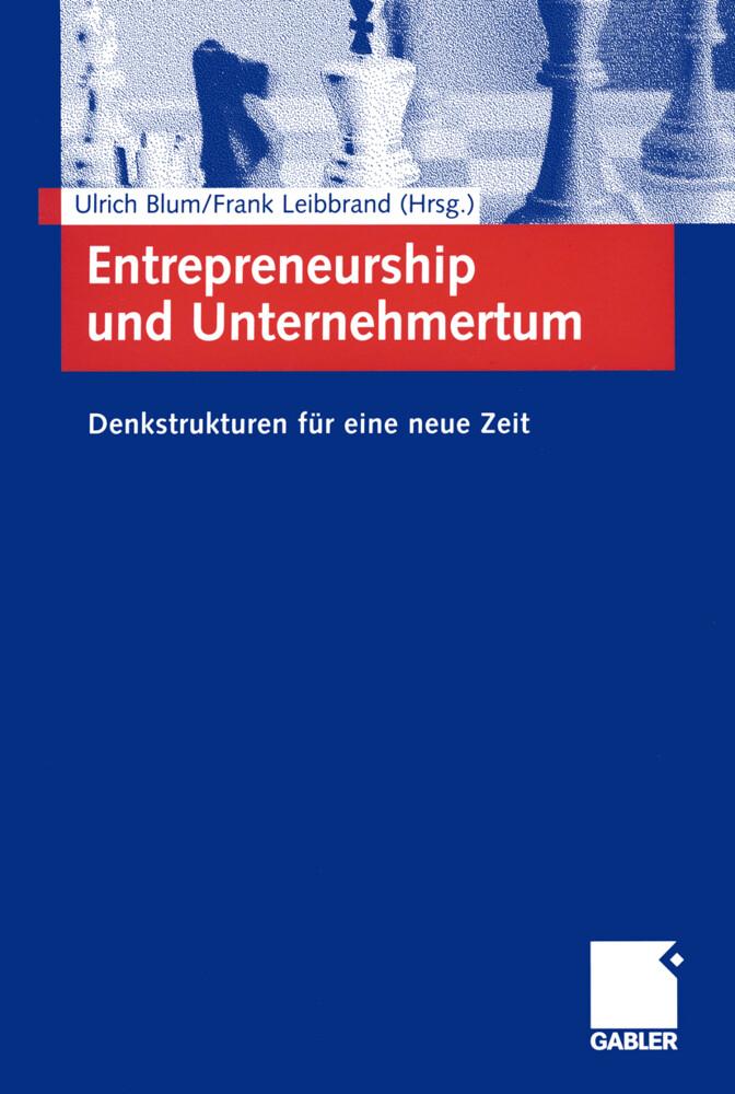 Entrepreneurship und Unternehmertum als Buch