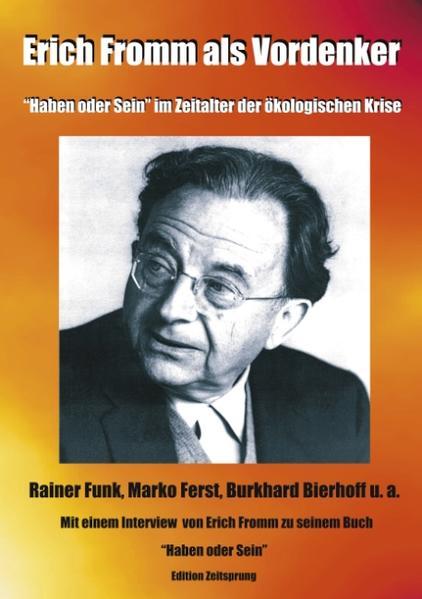 Erich Fromm als Vordenker als Buch