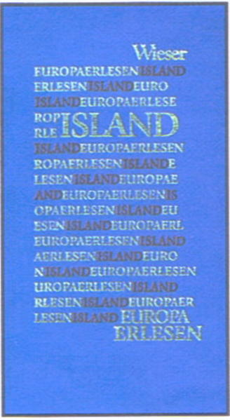 Europa Erlesen. Island als Buch