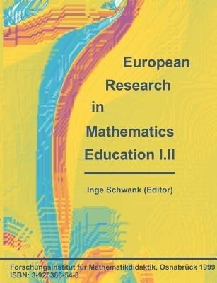 European Research in Mathematics Education I.II als Buch