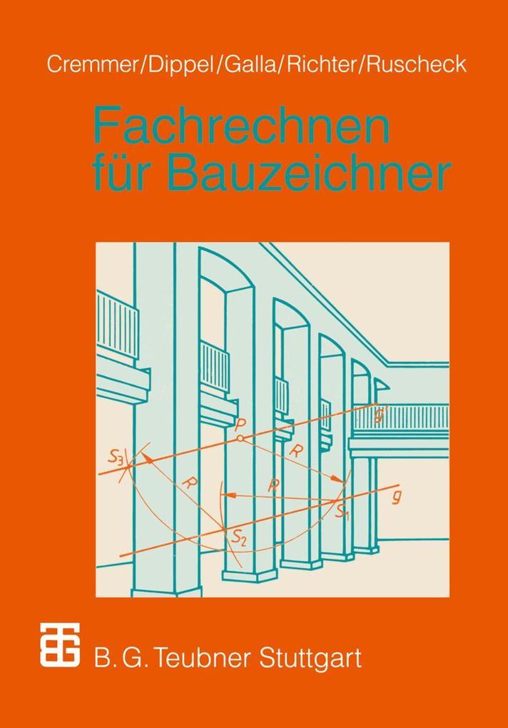 Fachrechnen für Bauzeichner als Buch