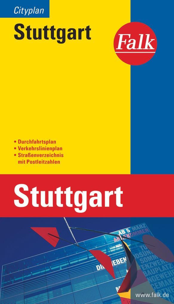 Falk Cityplan Stuttgart 1 : 20 000 als Buch