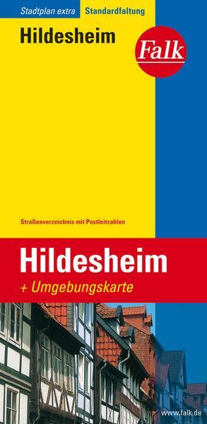 Falk Stadtplan Extra Standardfaltung Hildesheim 1 : 17 500 als Buch
