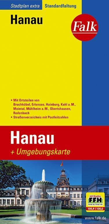 Falk Stadtplan Extra Standardfaltung Hanau als Buch
