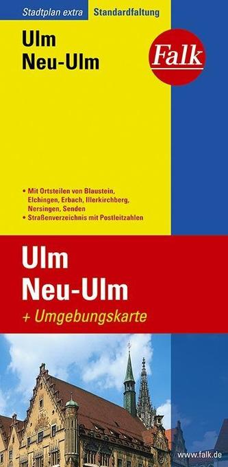 Falk Stadtplan Extra Standardfaltung Ulm, Neu-Ulm 1:17500 als Buch
