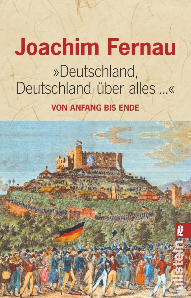 Deutschland, Deutschland über alles als Taschenbuch