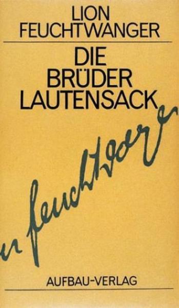 Die Brüder Lautensack als Buch