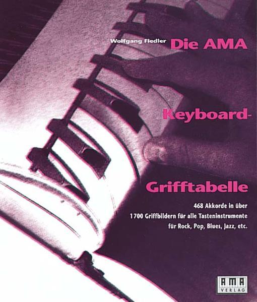 Die AMA-Keyboard-Grifftabelle als Buch