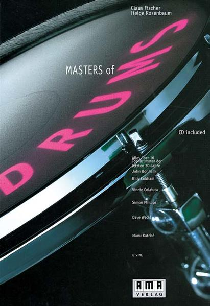 Masters of Drums. Inkl. CD als Buch