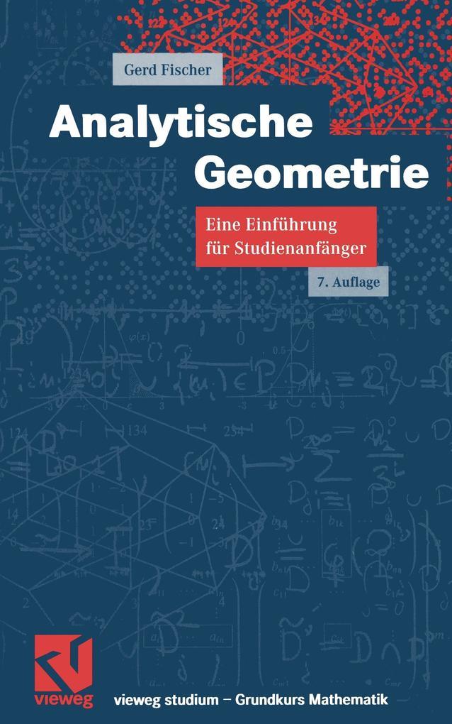 Analytische Geometrie als Buch
