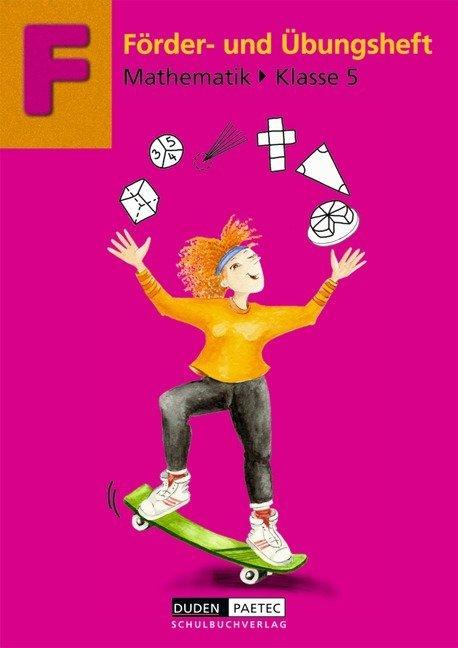 Förder- und Übungsheft Mathematik Klasse 5 als Buch
