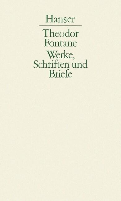 Effi Briest / Frau Jenny Treibel / Die Poggenpuhls / Mathilde Möhring als Buch