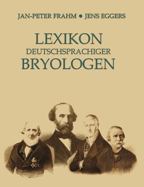Lexikon deutschsprachiger Bryologen als Buch