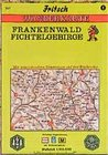 Frankenwald. Fichtelgebirge 1 : 100 000. Fritsch Wanderkarte