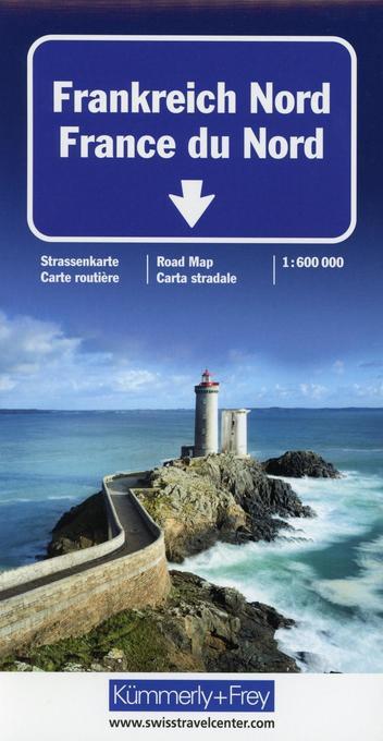 KuF Frankreich Nord 1 : 600 000. Straßenkarte als Buch