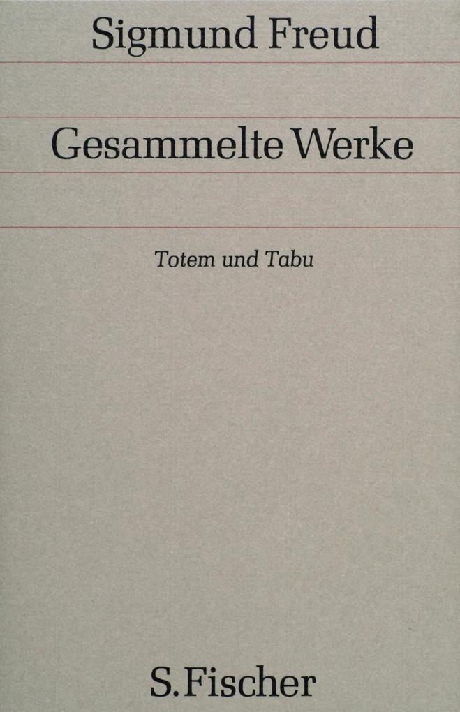Totem und Tabu als Buch