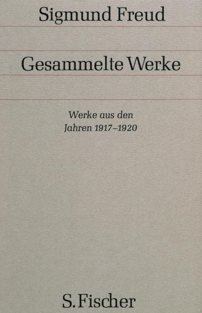 Werke aus den Jahren 1917-1920 als Buch