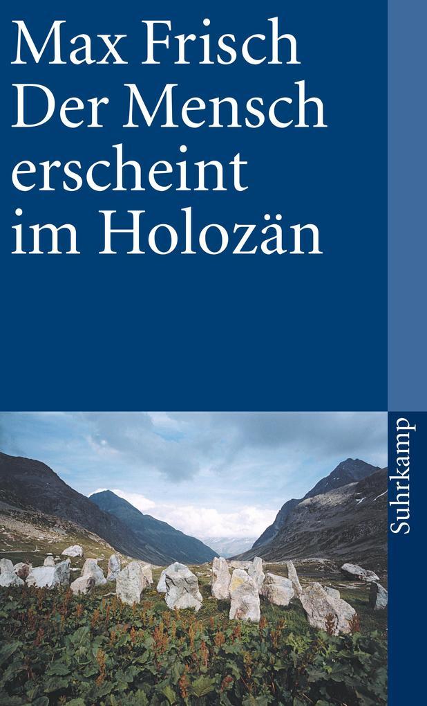 Der Mensch erscheint im Holozän als Taschenbuch