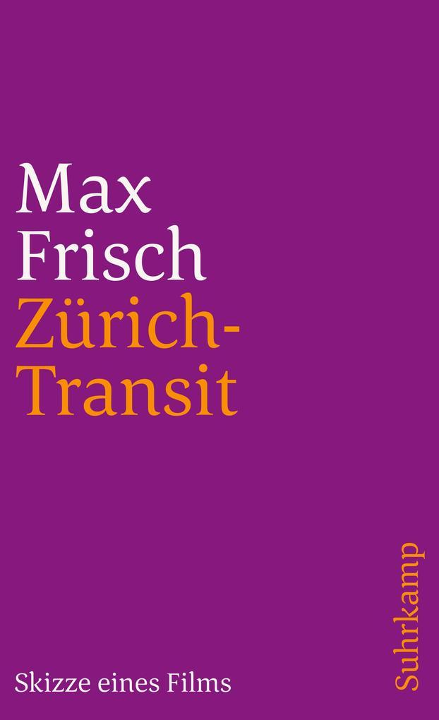 Zürich-Transit als Taschenbuch