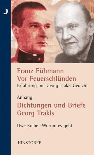 Vor Feuerschlünden - Erfahrung mit Georg Trakls Gedicht als Buch
