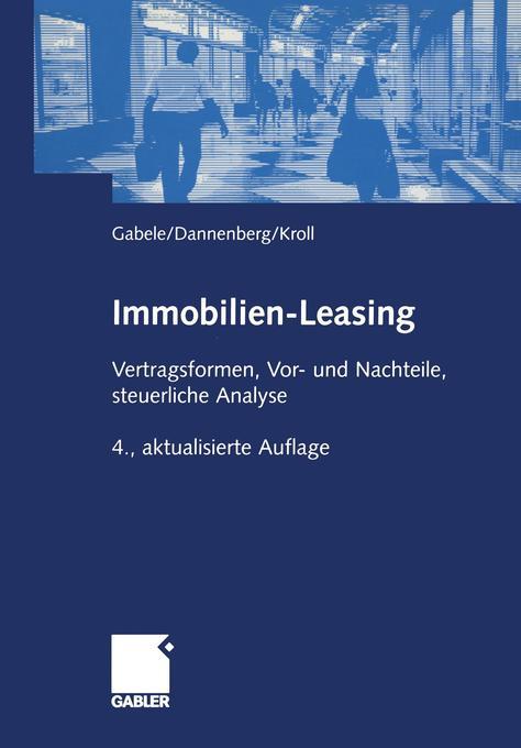 Immobilien-Leasing als Buch
