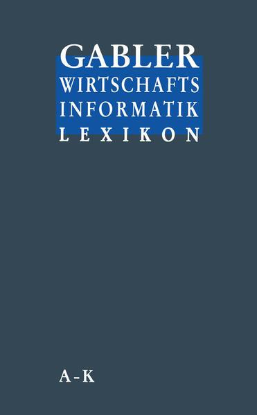 Gabler Wirtschafts Informatik Lexikon als Buch