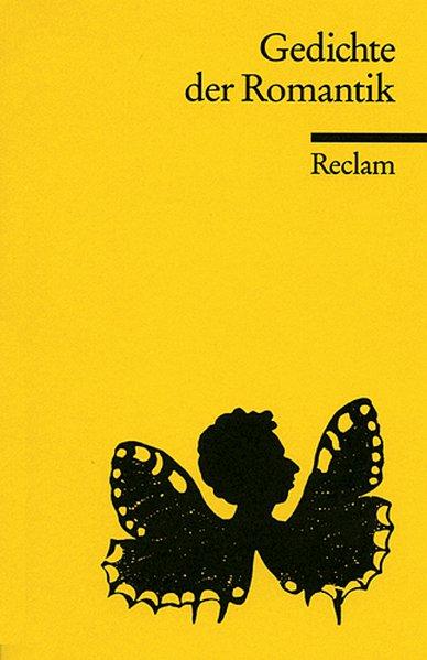 Gedichte der Romantik als Taschenbuch