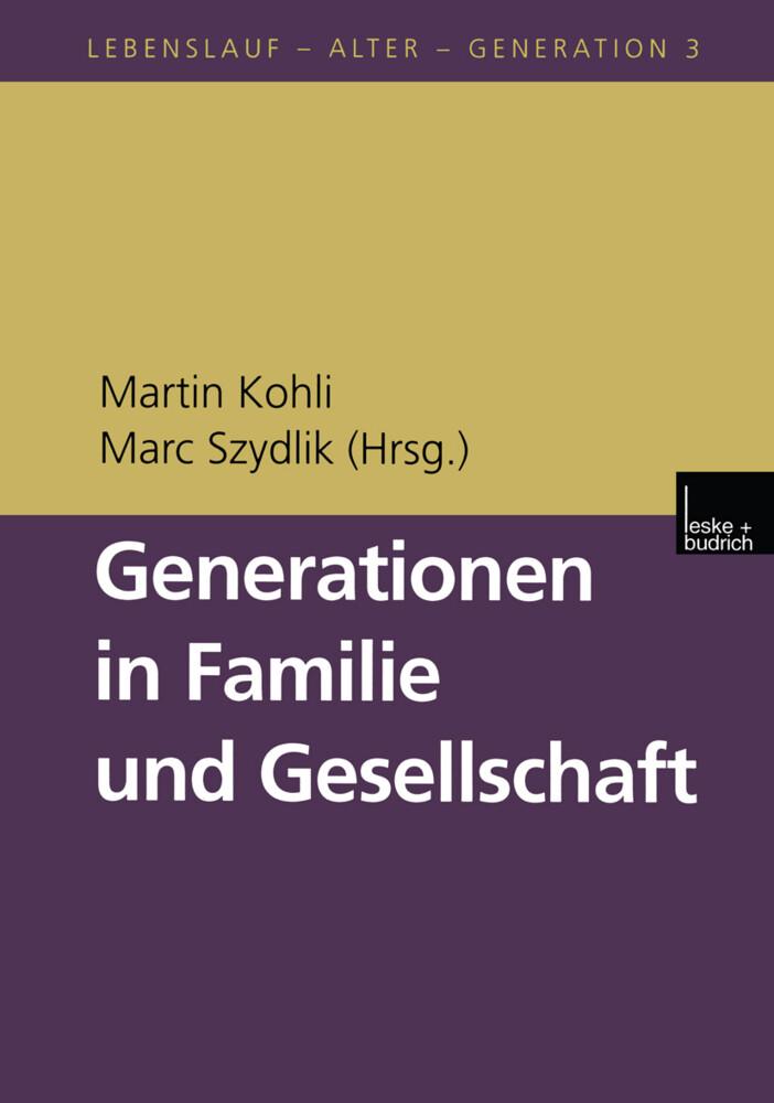 Generationen in Familie und Gesellschaft als Buch