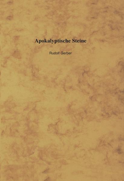 Apokalyptische Steine als Buch