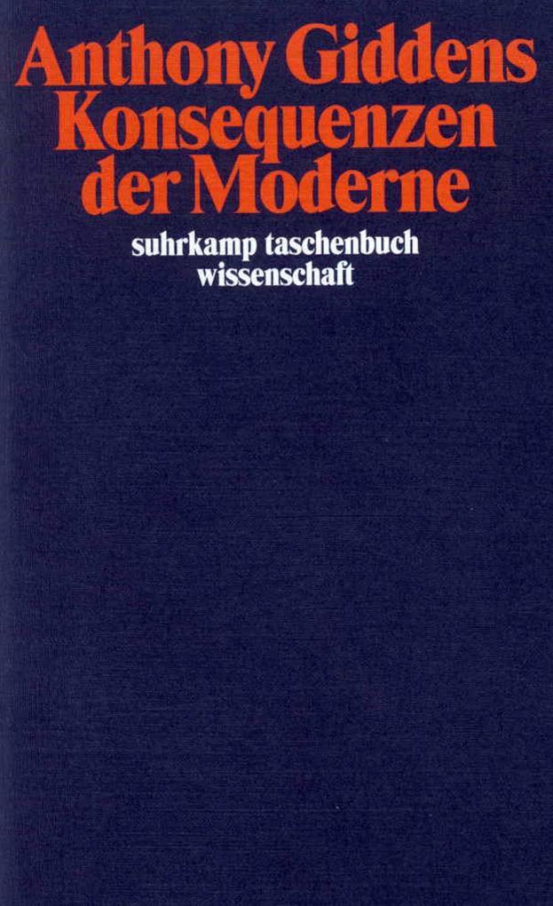 Konsequenzen der Moderne als Taschenbuch