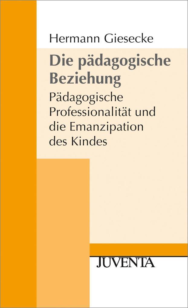 Die pädagogische Beziehung als Buch