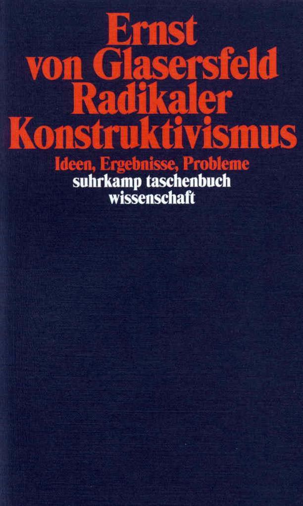 Radikaler Konstruktivismus als Taschenbuch