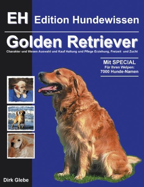 Golden Retriever als Buch