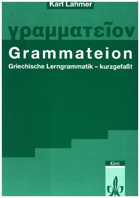 Grammateion - kurz gefasst als Buch