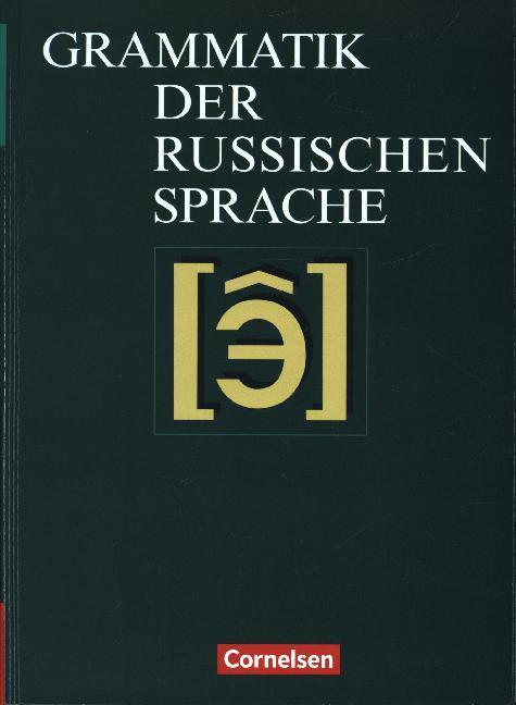 Die Grammatik der russischen Sprache als Buch