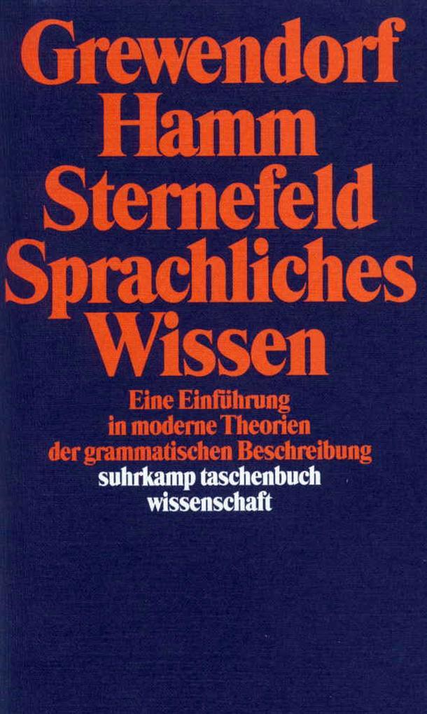 Sprachliches Wissen als Taschenbuch