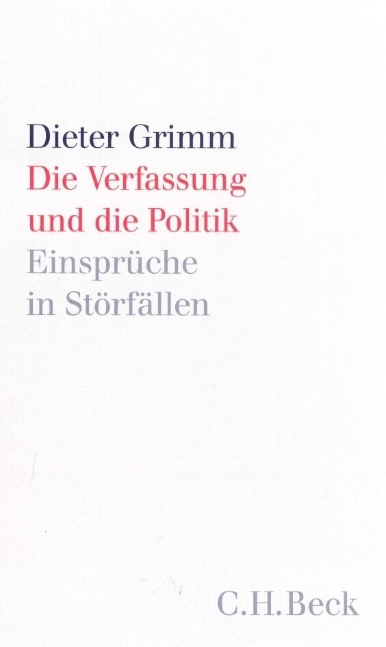 Die Verfassung und die Politik als Buch