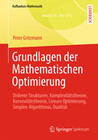 Grundlagen der Mathematischen Optimierung
