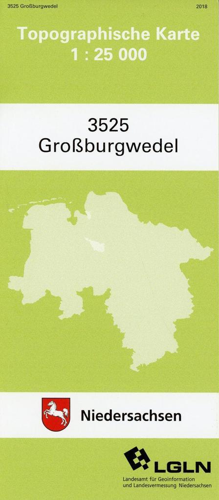 Großburgwedel 1 : 25 000. (TK 3525/N) als Buch