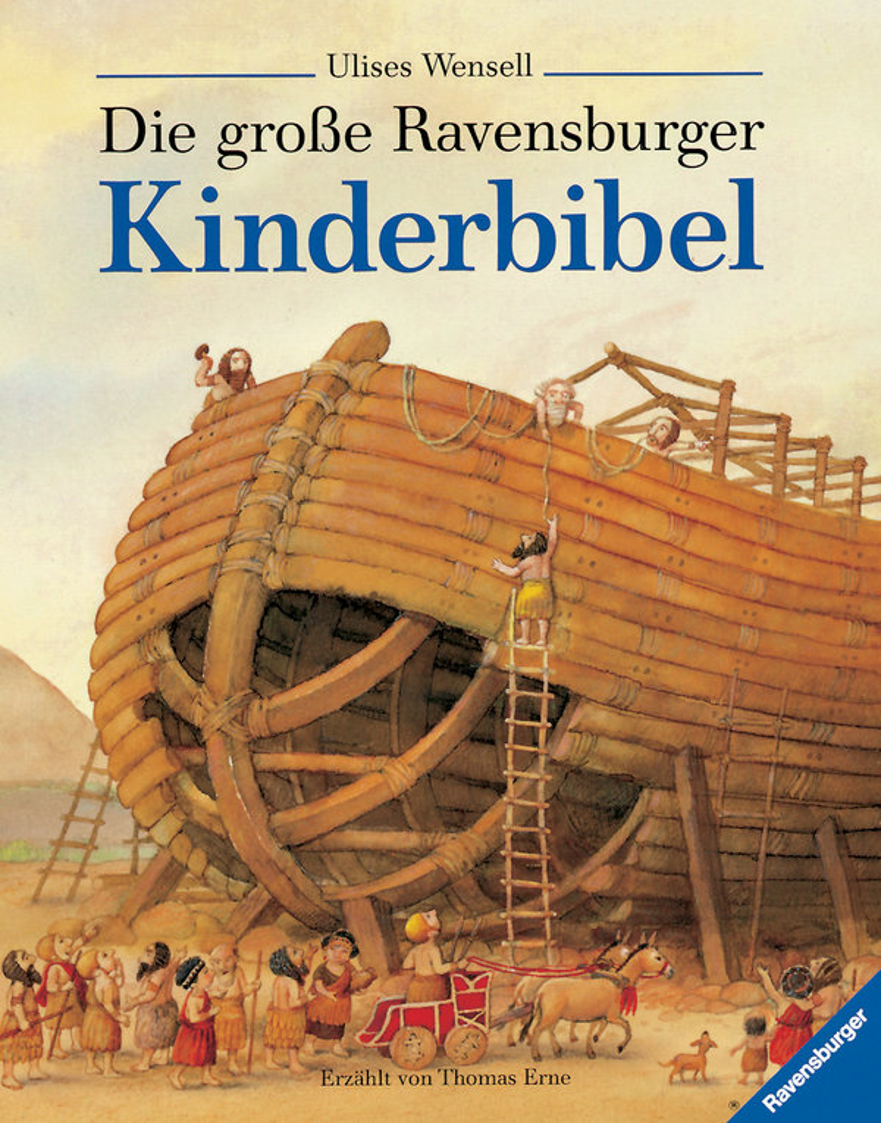 Die große Ravensburger Kinderbibel als Buch