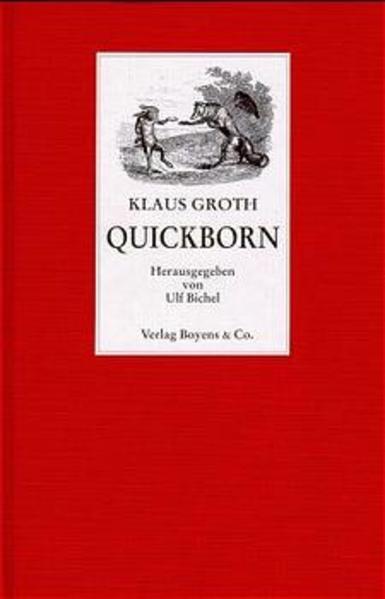 Quickborn als Buch