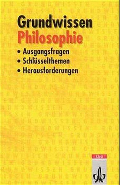 Grundwissen Philosophie als Buch