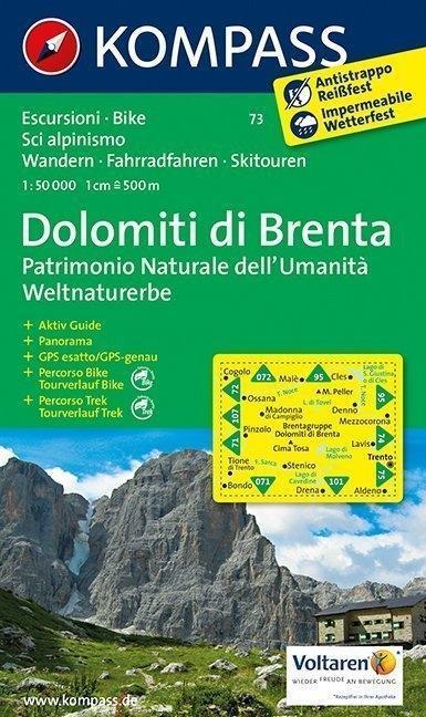 Gruppo di Brenta 1 : 50 000 als Buch