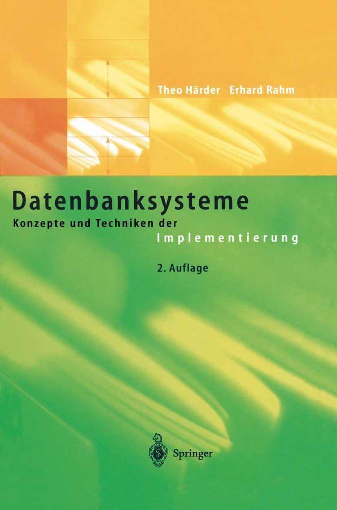 Datenbanksysteme als Buch