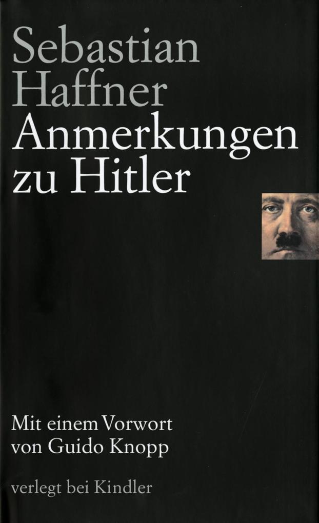 Anmerkungen zu Hitler als Buch