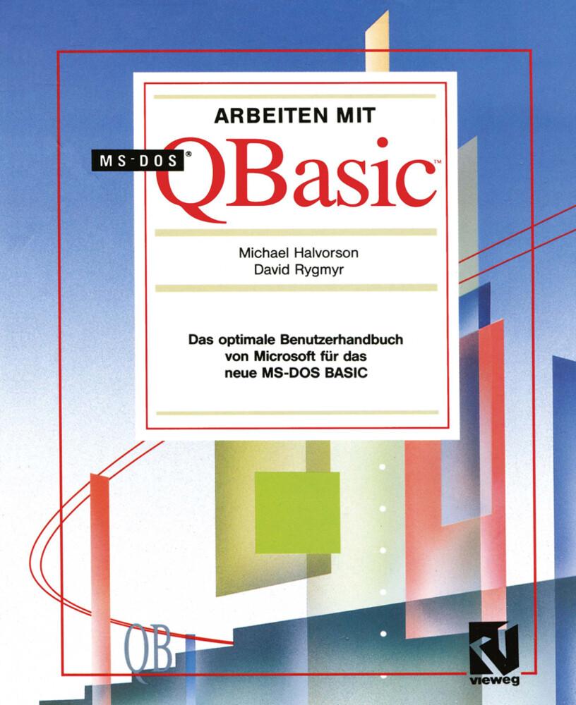 Arbeiten mit MS-DOS QBasic als Buch