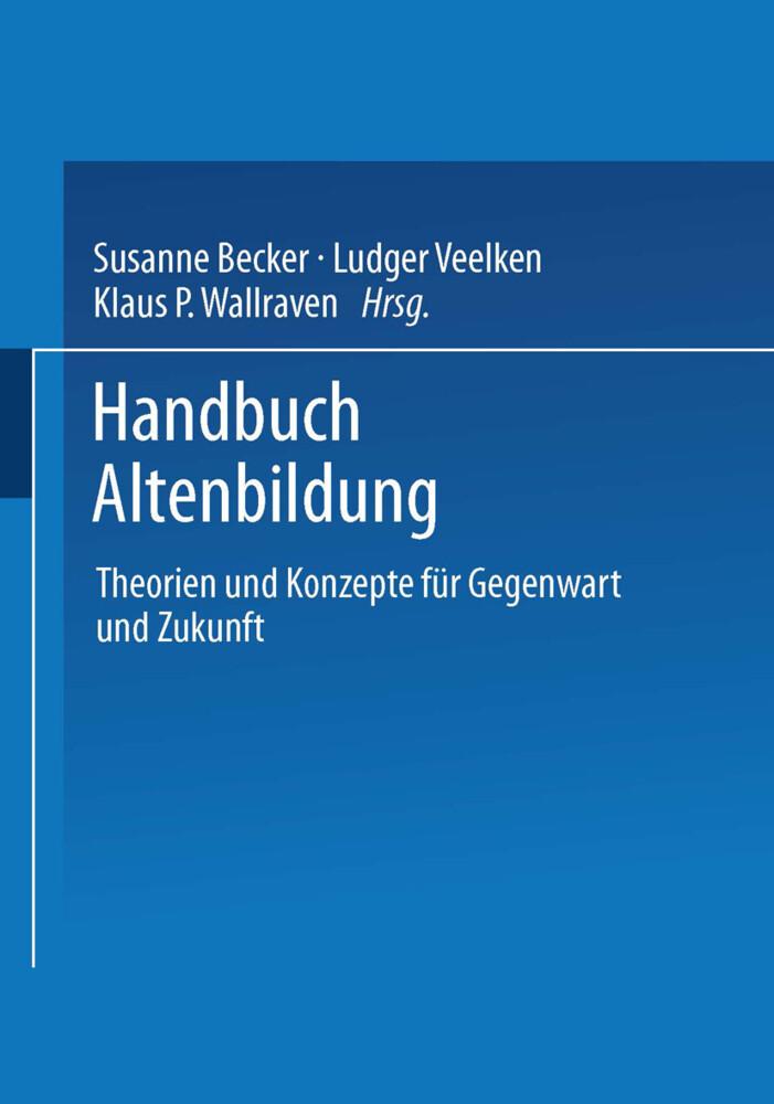 Handbuch Altenbildung als Buch