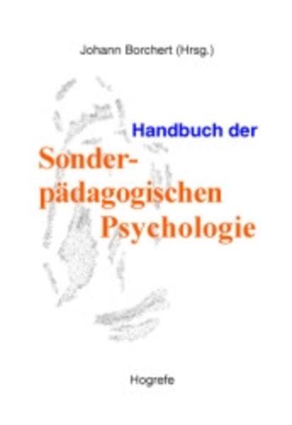 Handbuch der Sonderpädagogischen Psychologie als Buch